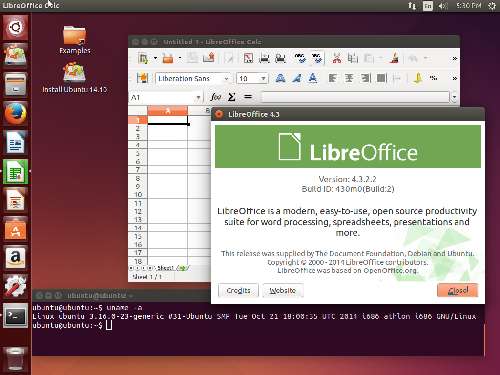 Ubuntu 14.10 Utopic Unicorn [i386, amd64] 2xDVD, 2xCD