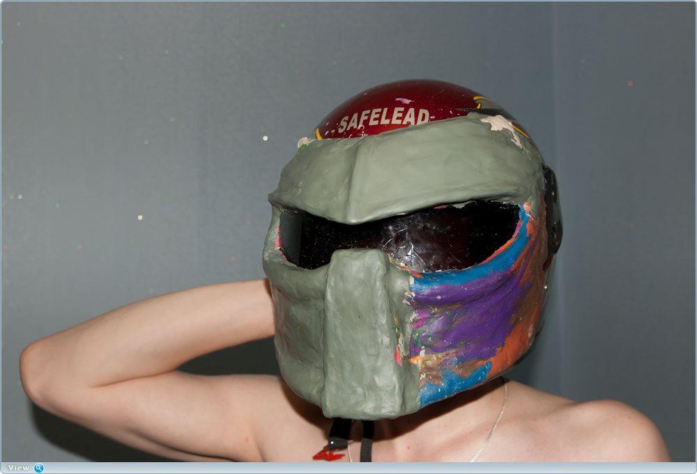 Делаем крутой шлем Хищника