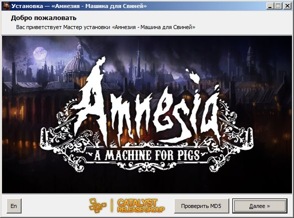 Amnesia: A Machine for Pigs (2013) [Ru/Multi] (1.0 Upd2) Repack R.G. Catalyst