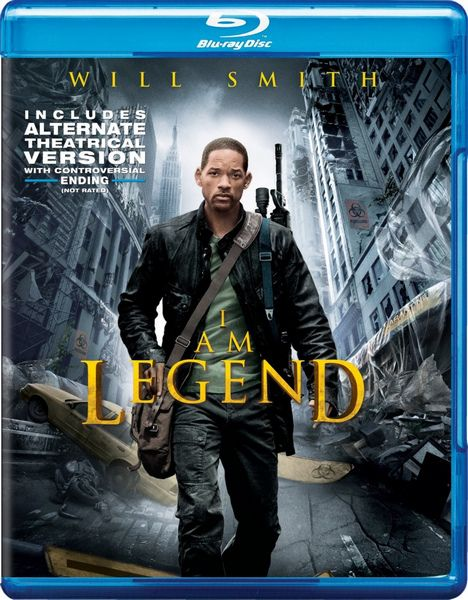 Я - легенда / I Am Legend (Френсис Лоуренс / Francis Lawrence) [2007, США, фантастика, триллер, драма, ужасы, BDRip 1080p] [2 in 1: Theatrical & Alternative Cut] Dub + MVO + Sub Eng + Original Eng