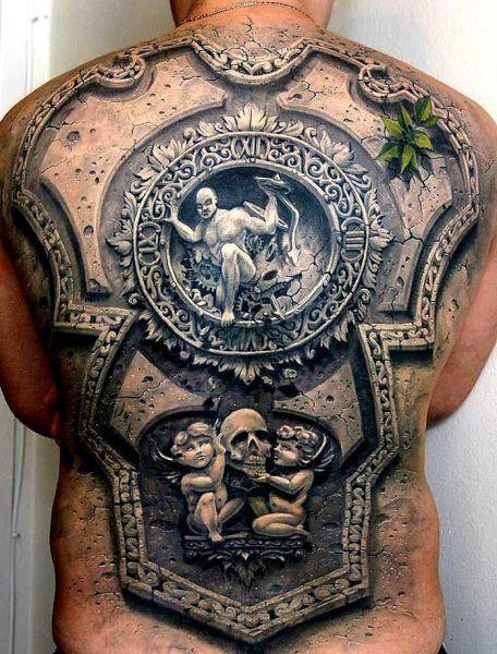 Крутая татуировка 1