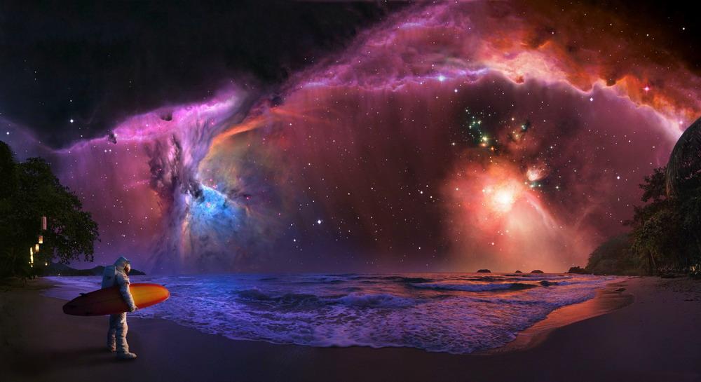 Космический пляж 1