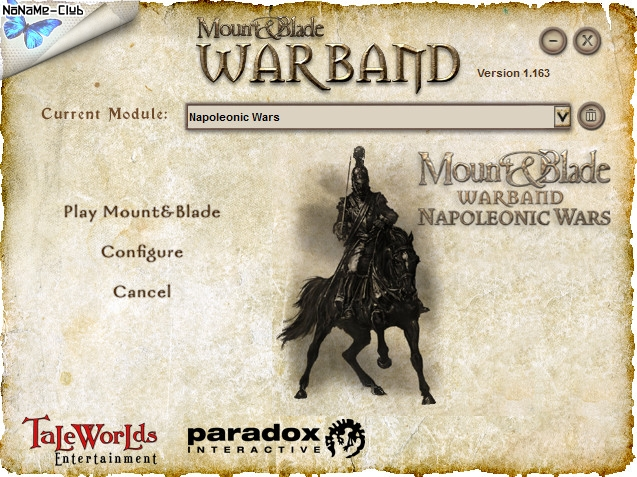 Mount & Blade: Warband (2010) [En] (1.163) License Skidrow [Napoleonic Wars & Viking Conquest]
