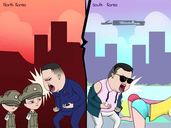 Разница между Кореями 1