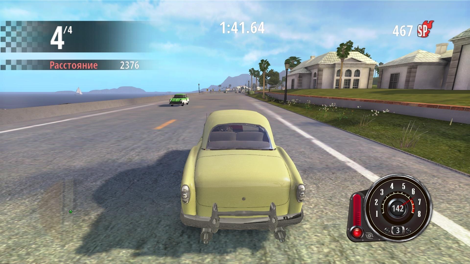 Третий скриншот Motorama: Classic Racing (RePack) Русская версия