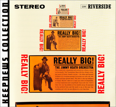 (Hard-Bop, Post-Bop) [CD] Jimmy Heath - Really Big! (1960) - 2007 {Keepnews Collection},FLAC (tracks+.cue), lossless