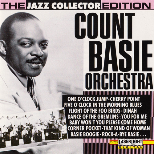 (Big Band, Swing) [CD] Count Basie Orchestra - Count Basie Orchestra - 1991 {LaserLight 15 763}, FLAC (tracks+.cue), lossless