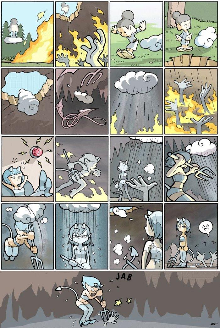 Облачко в аду 1