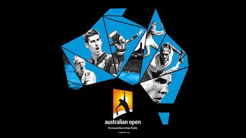 Australian Open 2016 / 2-й круг / Остин Крайчек (США, LD) — Кей Нисикори (Япония, 7) / A. Krajicek(USA) - K. Nishikori(JPN) [7] / Eurosport [20.01.2016, Теннис, SD, H.264, RU, IPTV]