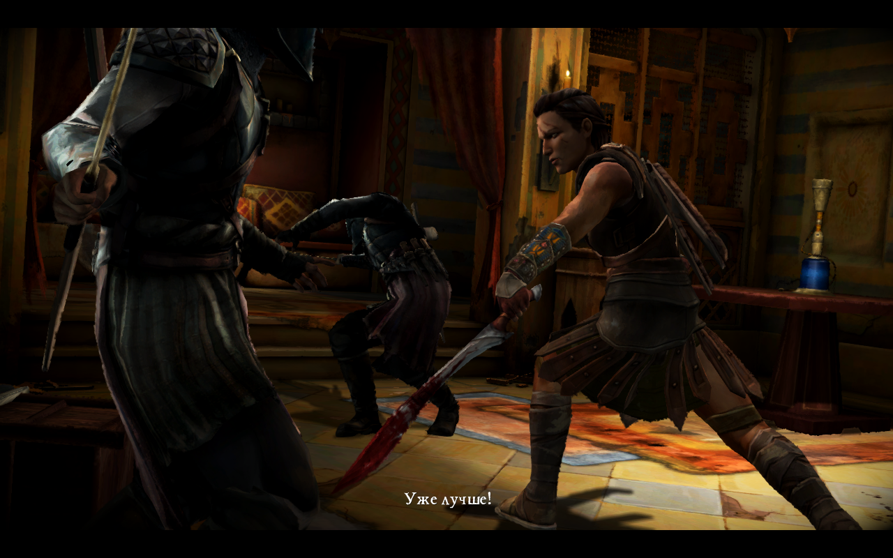 Game of Thrones: A Telltale Games Series. Episode 1-4 v. 1.0 (2015) [Ru] [OS X Native game]