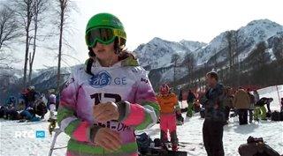 Российская сноубордистка Алена Заварзина [RTG] (2013) HDTVRip от GeneralFilm