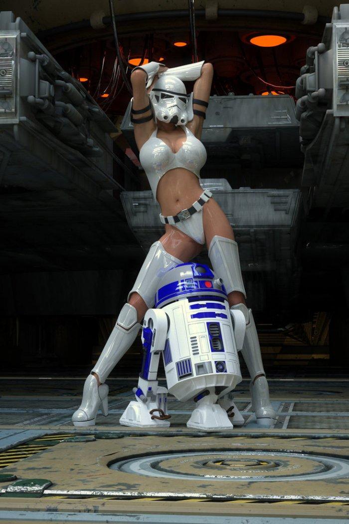 3D арт: сексуальный штурмовик 1