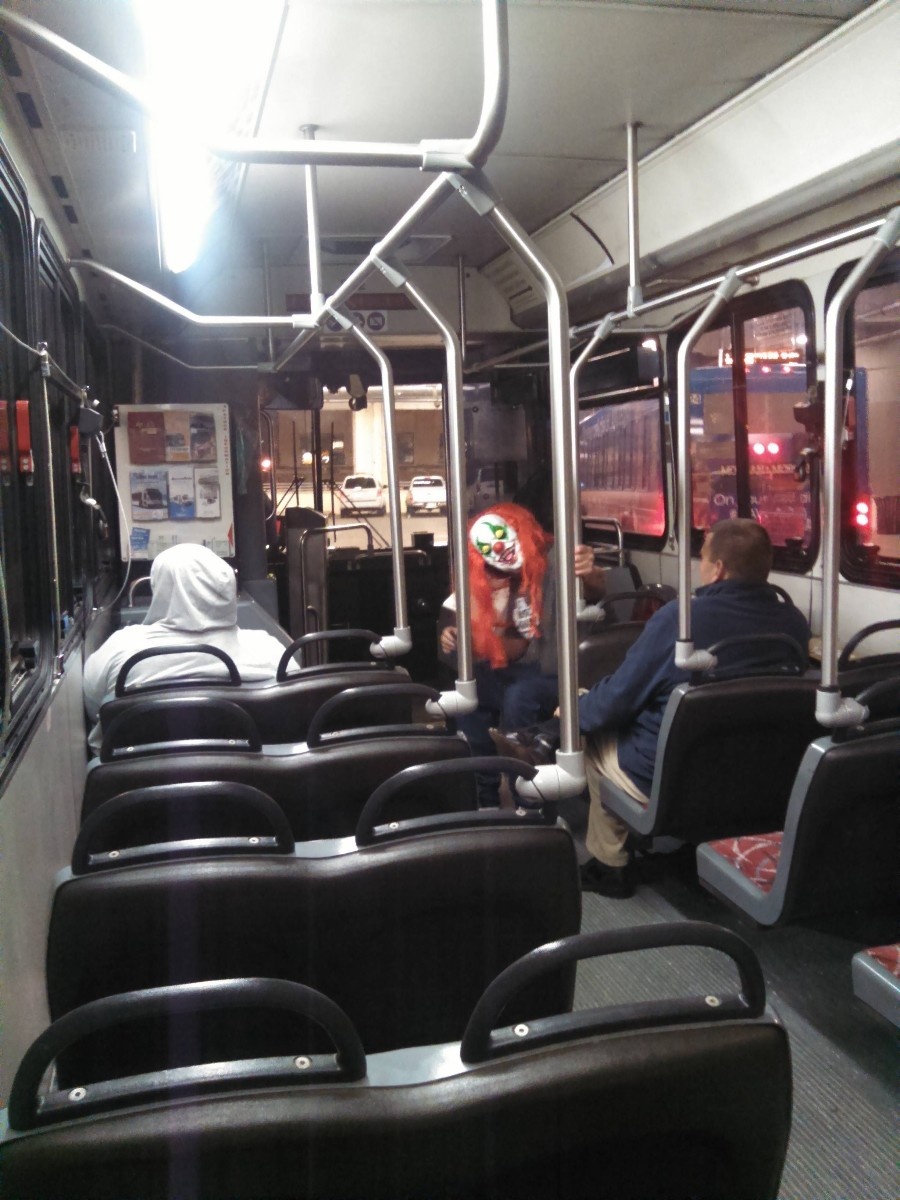 Крипота в автобусе
