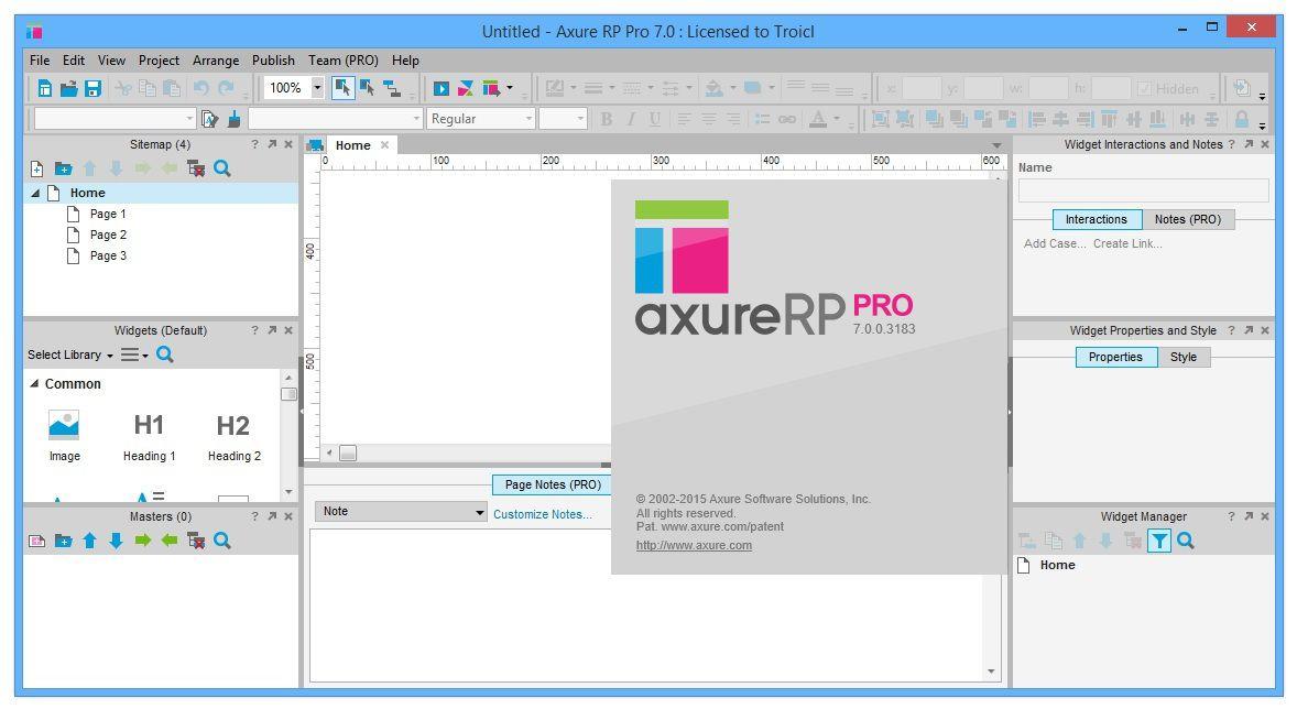 Axure RP PRO 7.0.0.3183-BEAN - (antonhyip 2015)