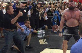 Эдди Холл и его рекордная становая 462 кг