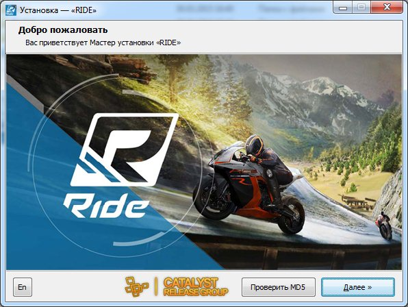 RIDE (2015) [Ru/Multi] (1.0/2dlc) Repack R.G. Catalyst