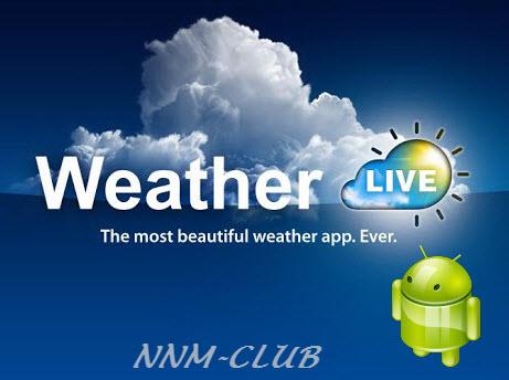 Weather Live v6.11 Premium [Ru / Multi] - многофункциональный погодный виджет