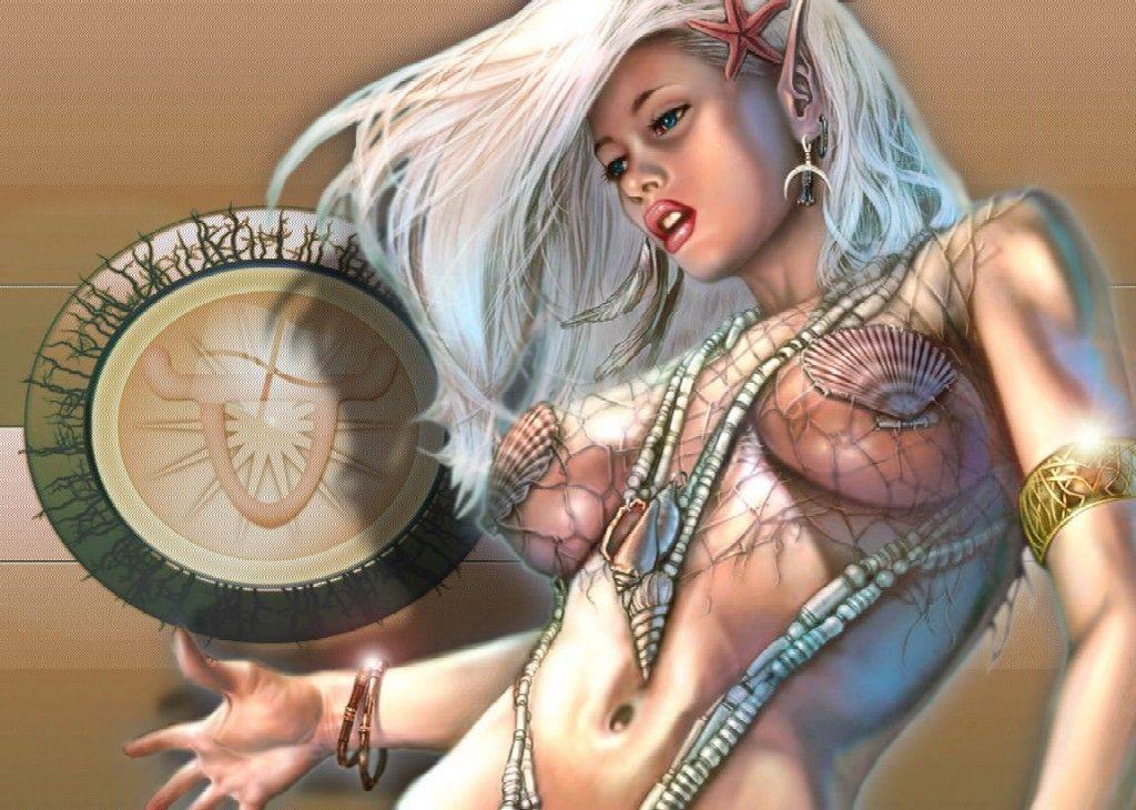 Супергероини рисунки фэнтези эротика 3 фотография