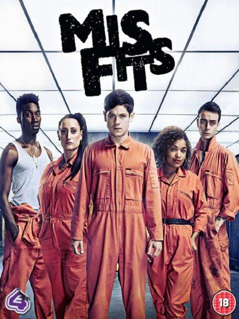 Отбросы / Плохие / Долбанутые / Misfits (2011) WEB-DLRip (Сезон 3, серии 1-8 из 8) Кубик в кубе