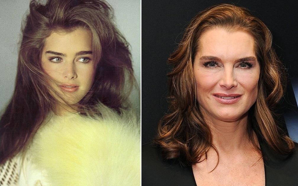 такие фото актрис сейчас и тогда широко известные