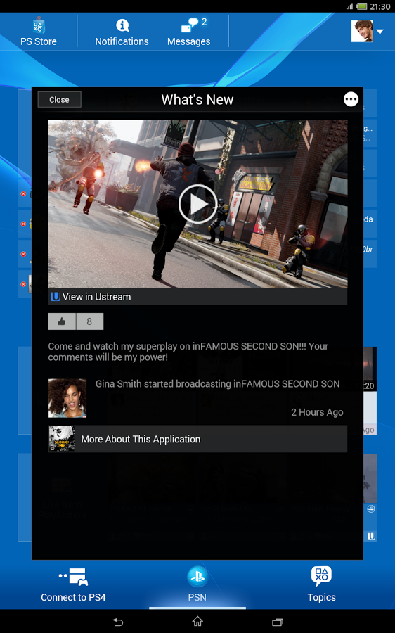 PlayStationApp 2.50.15 (2015) Android