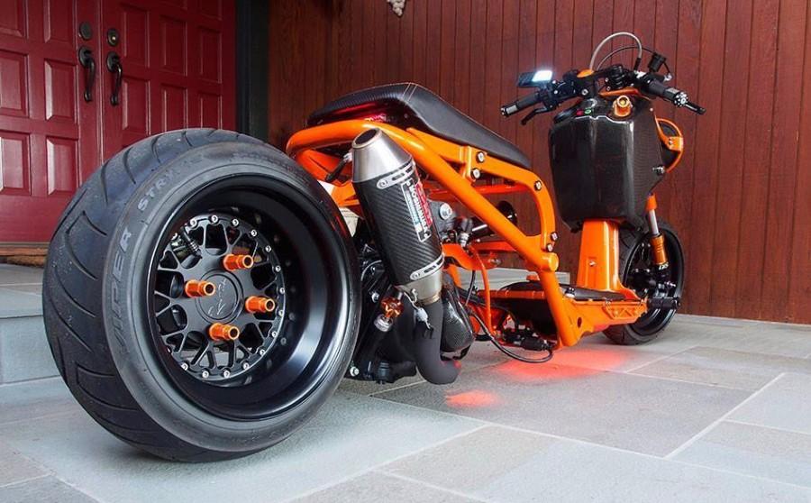 Модификация скутера