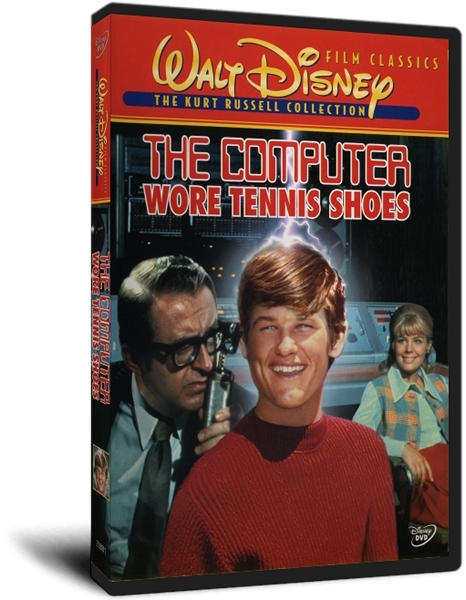 ��������� � ���������� / The Computer Wore Tennis Shoes (1969) DVDRip | VO