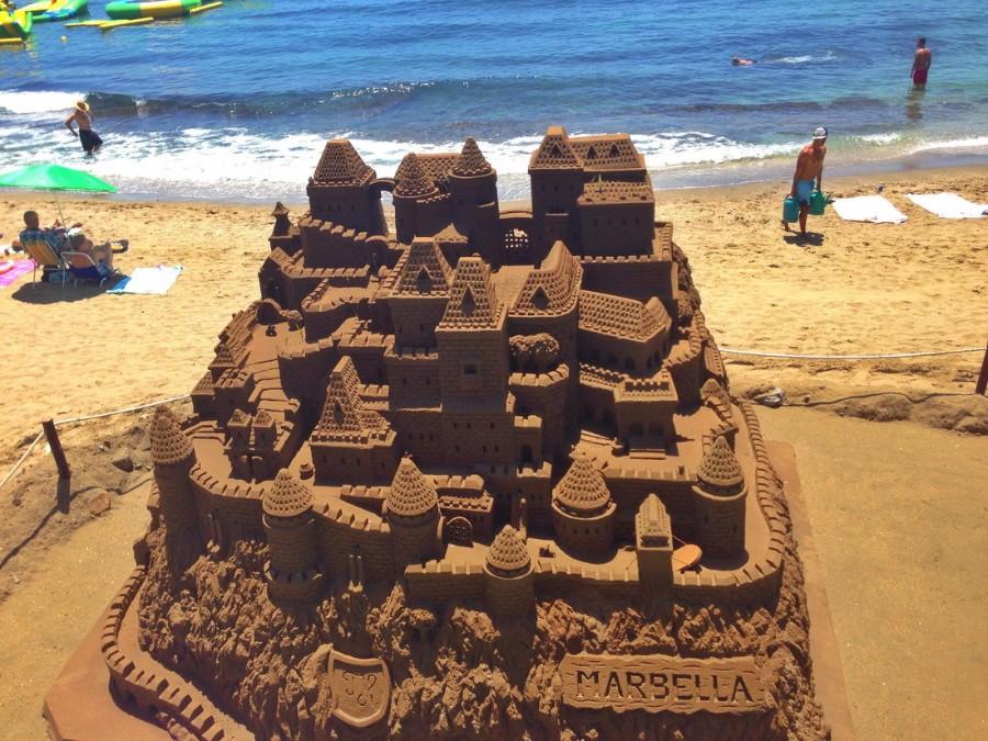 Замок их песка