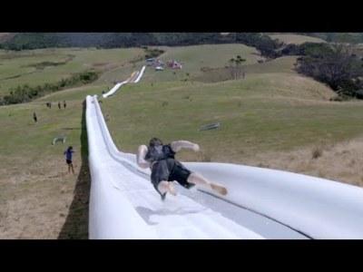 Самая длинная в мире водная горка