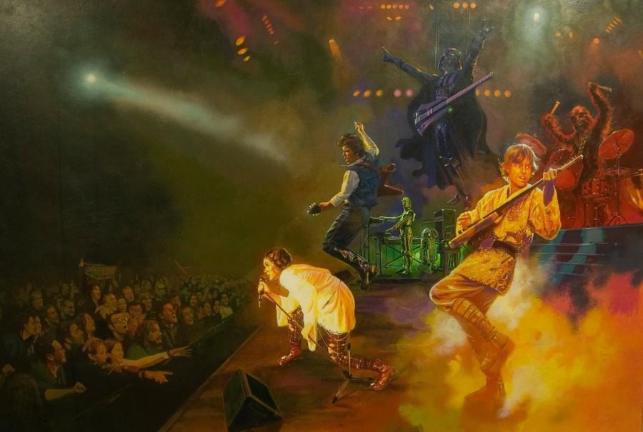 Концерт героев звездных войн
