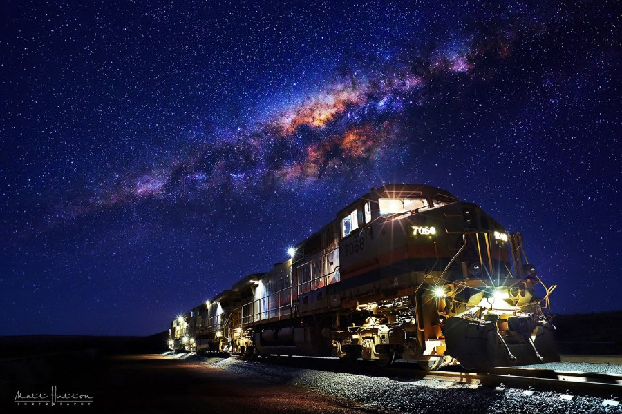 Ночной локомотив