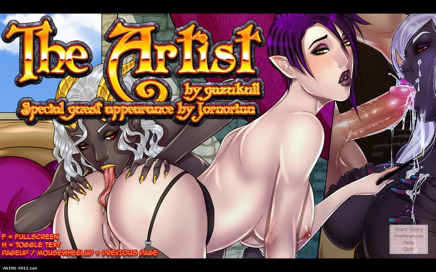 The Artist (Gazukull) [2015] [Uncen] [3DCG, Animation] [ENG] H-Game
