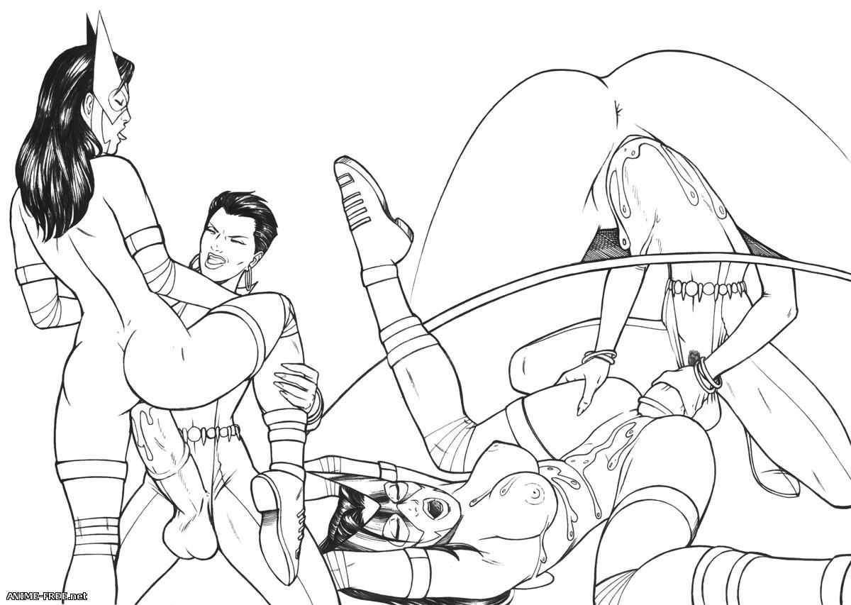 Собрание комиксов художника extro [Uncen] [ENG] Porno Comics