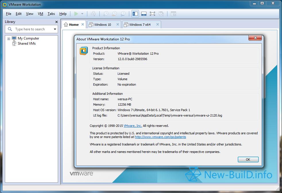 Vmware Workstation Free Download For Windows 7 Ultimate 64