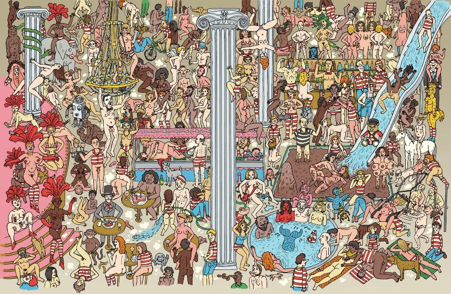 Найди Валдо