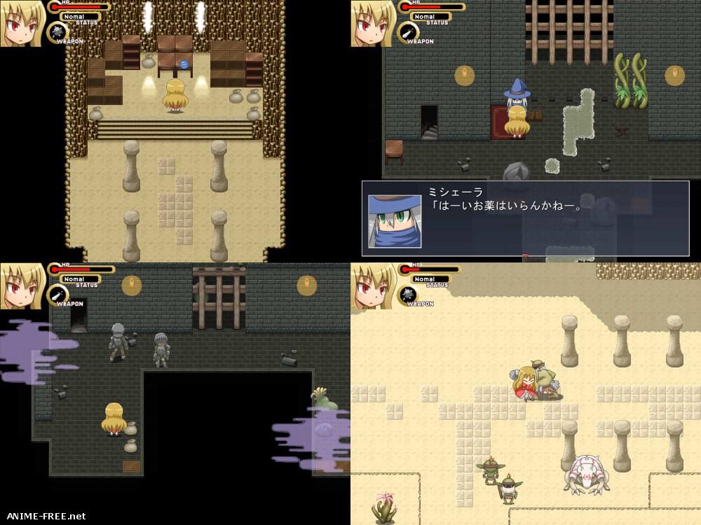 Maze of Marionette [2012] [Cen] [Action, jRPG] [JAP] H-Game