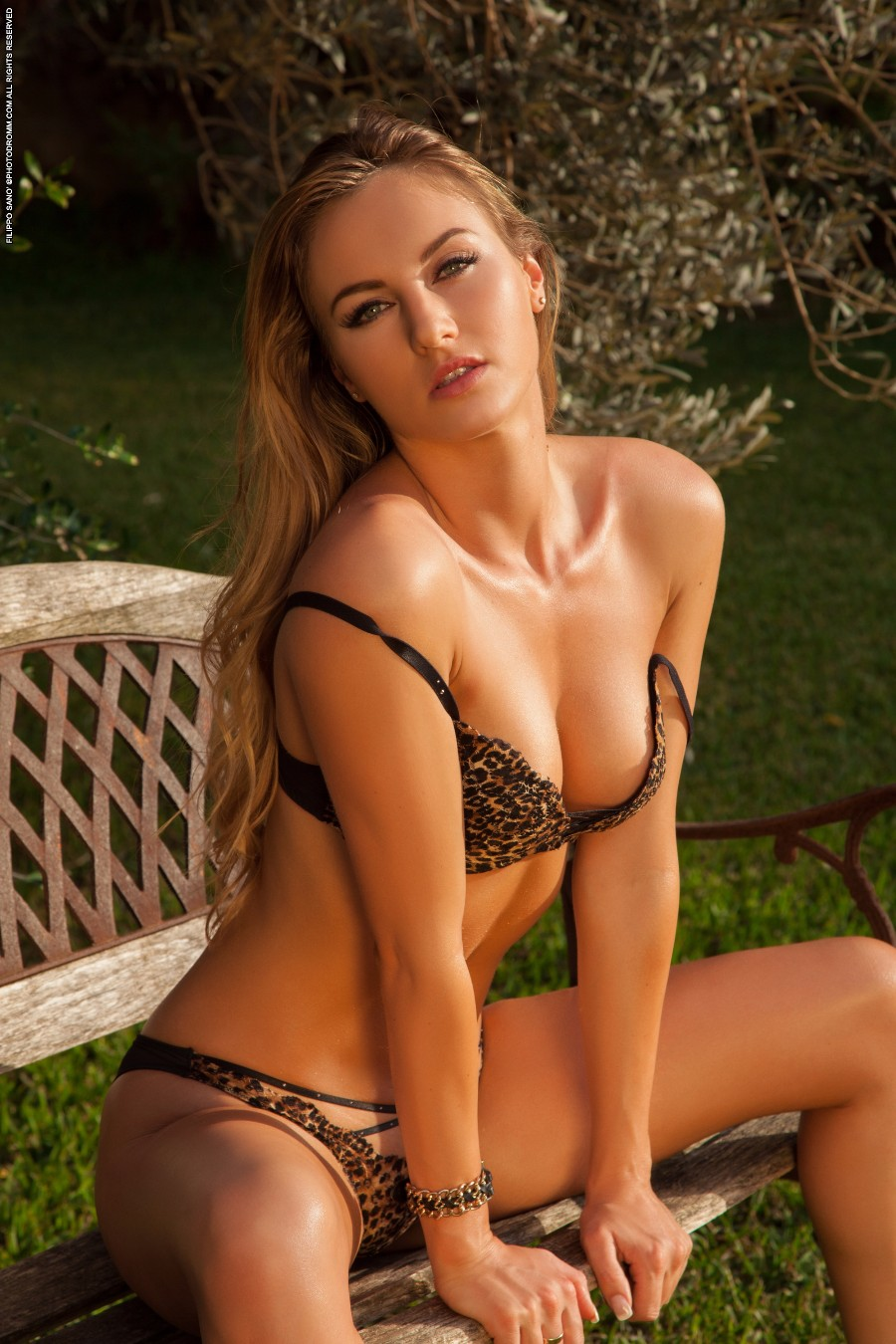 Леопардовое белье