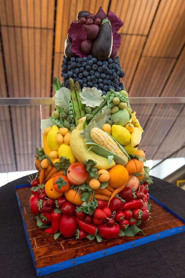 Овощная пирамида