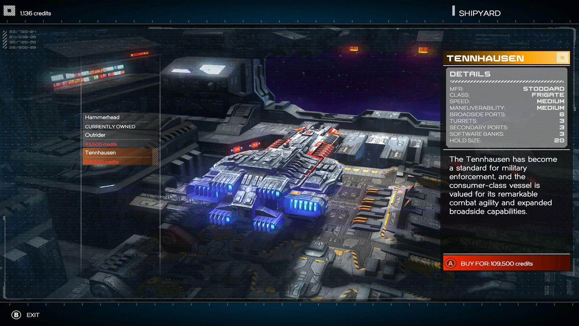 Третий скриншот Rebel Galaxy v1.07b