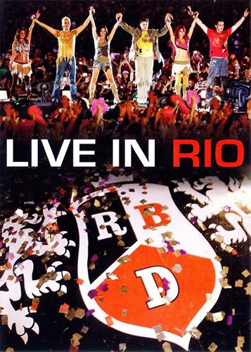 RBD - Live in Rio [2007 г., Pop, Latino, DVD9]