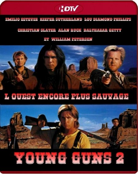 Молодые стрелки 2 / Young Guns II (1990) HDTVRip-AVC от k.e.n & NNMClub | P, A