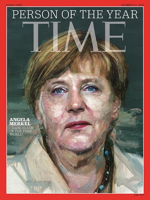 Ангела Меркель стала «Человеком года» по версии журнала Time