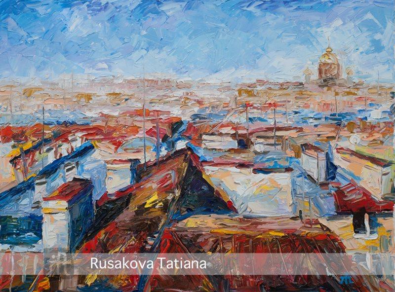 Творчество художника-дизайнера Татьяны Русаковой