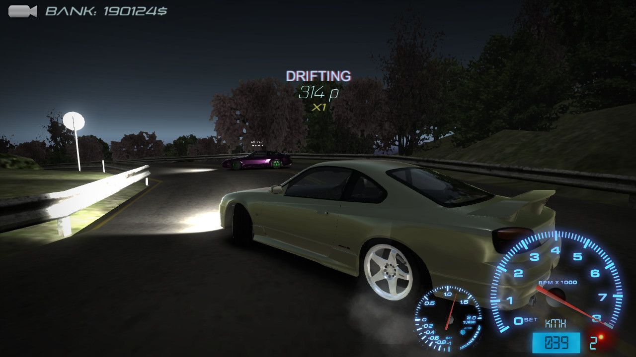 Скриншот Drift Streets Japan v2.3.0