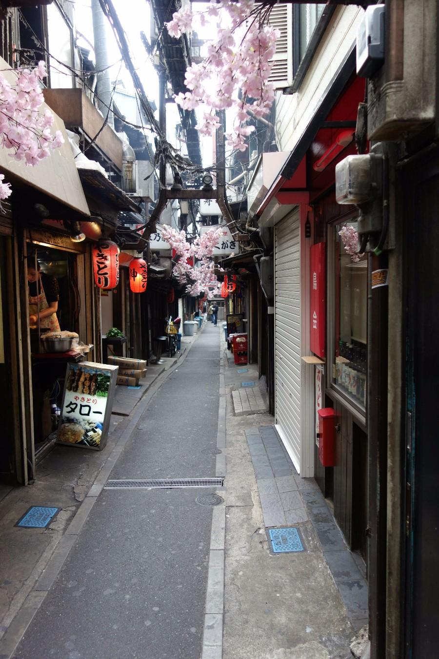 Японские улочки