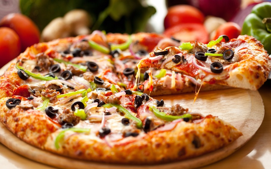 Ароматная итальянская пицца