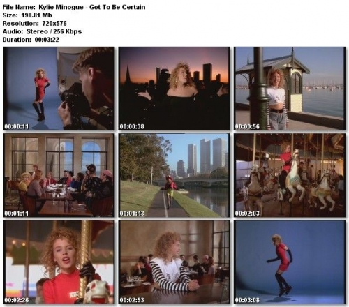 Kylie Minogue - Got To Be Certain (1988)