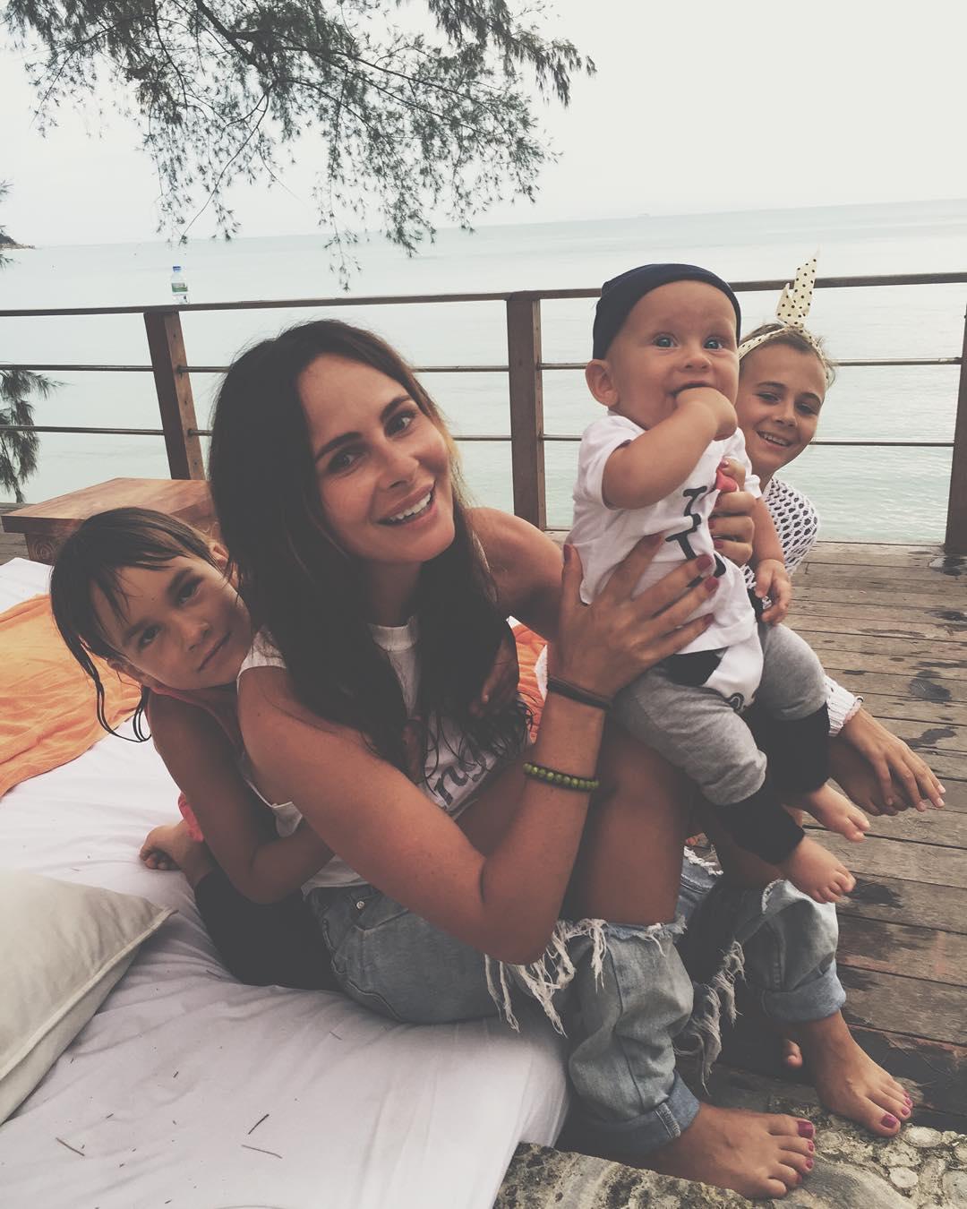 Ветлицкая с ребенком фото