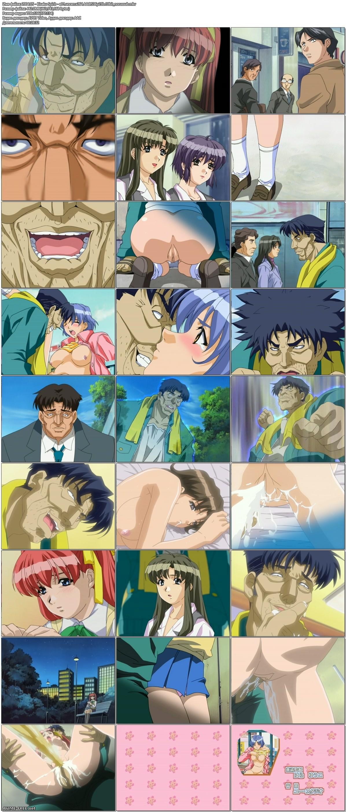 Kisaku [ep. 1-6 of 6] / Kisaku Spirit [ep. 1-3 of 3] [RUS,ENG,JAP] Anime Hentai