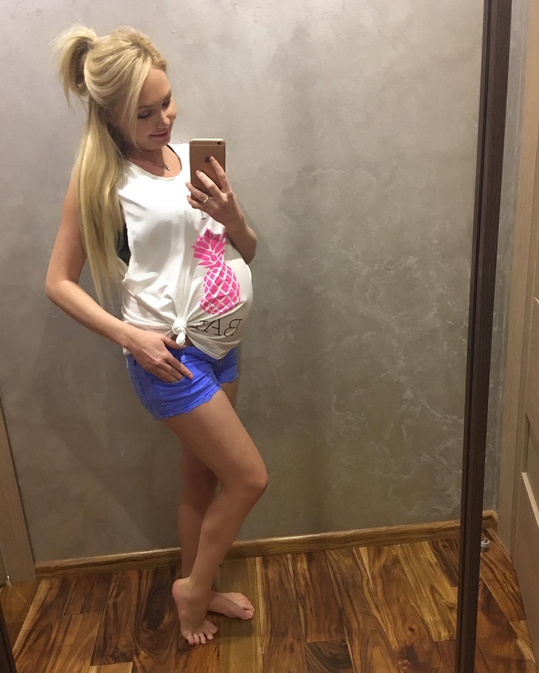 Беременная пынзарь вторым ребенком фото